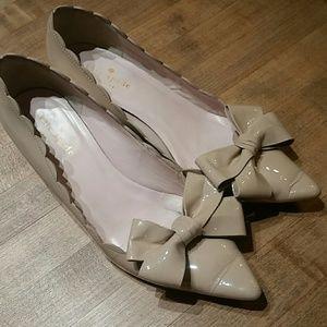 Kate Spade cute bow heels